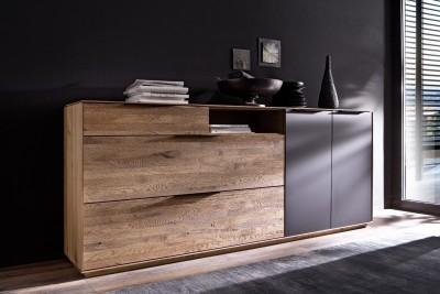 Sideboard-schwarz-Bianco